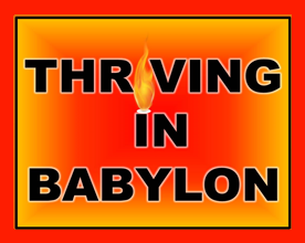Thriving in Babylon Logo